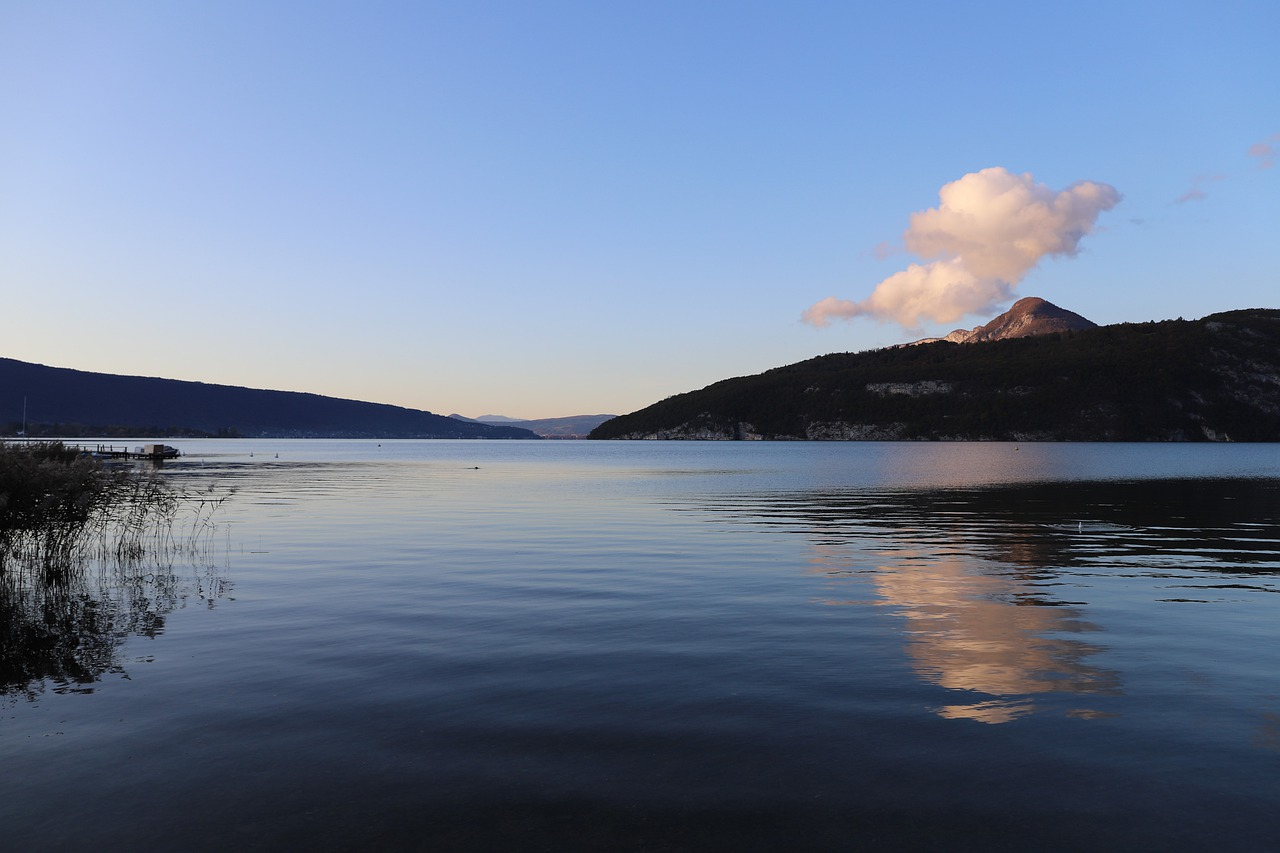 paddle lac d'annecy