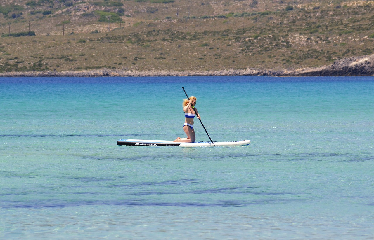 5 raisons de faire du sport paddle