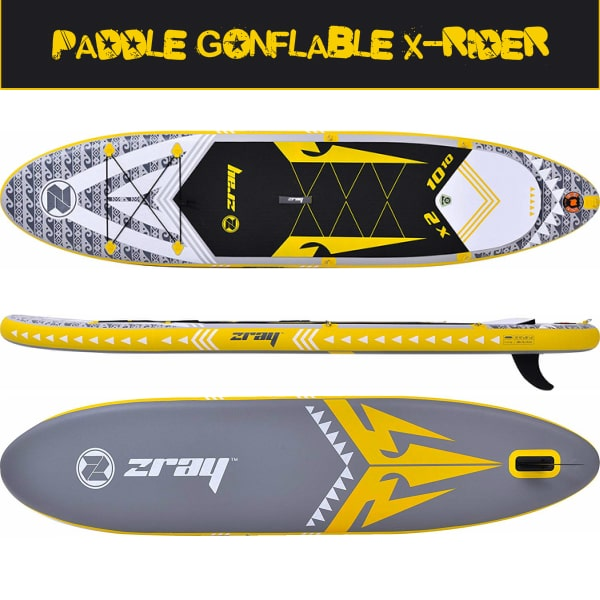 design paddle gonflable x-rider