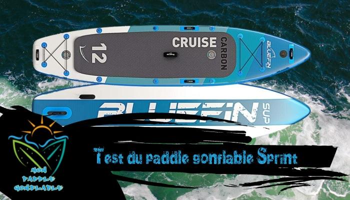 paddle gonflable bluefin sprint avis