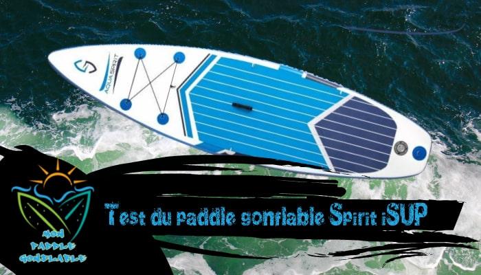 test et avis paddle pas cher