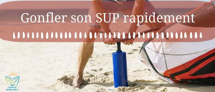acheter pompe electrique gonflage rapide paddle gonflable