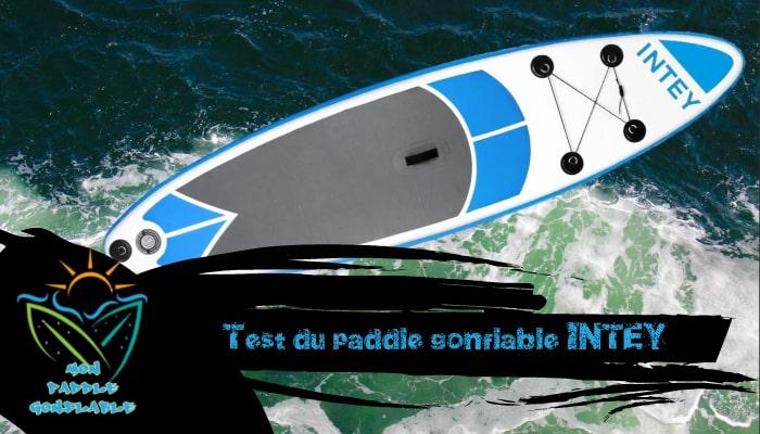 avis réel paddle intey